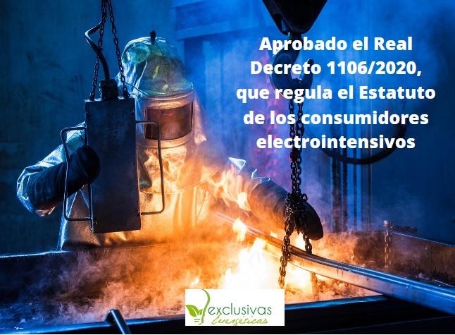 Aprobado el estatuto del consumidor electrointensivo