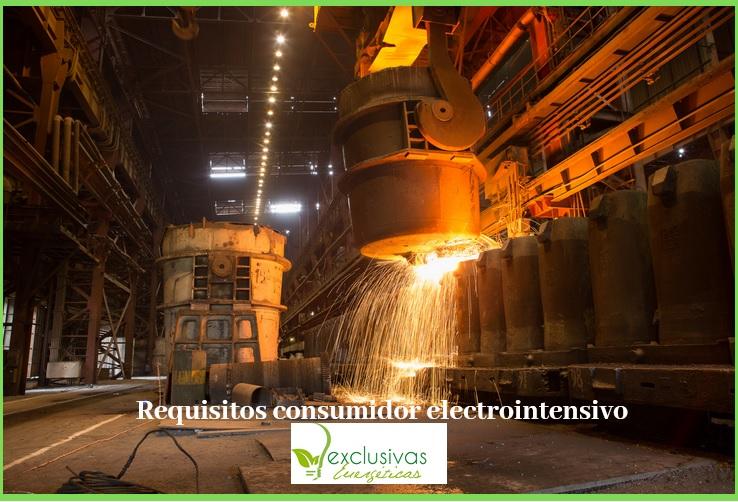 Los requisitos para ser consumidor electrointensivo