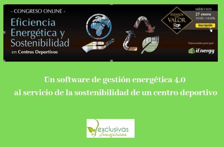 Un software de gestión energética 4.0 al servicio de la sostenibilidad de un Centro deportivo.