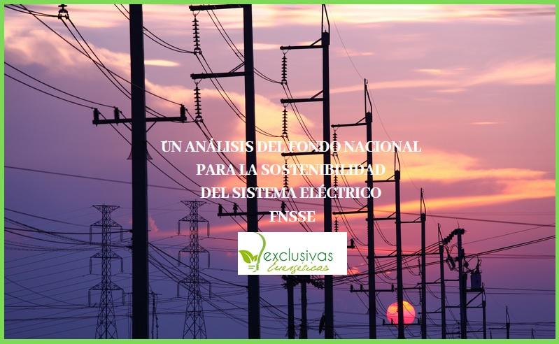 Un análisis del Fondo Nacional para la Sostenibilidad del Sistema Eléctrico FNSSE